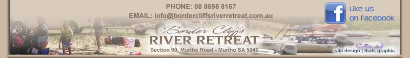 border cliffs river retreat - south australian holiday accommodation - riverland